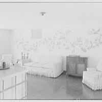 Mrs. H.C. Comly, residence in Round Hill, Greenwich, Connecticut. Playroom I