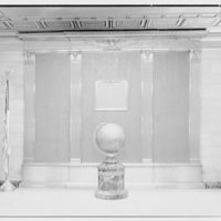 New York Athletic Club, 59th St. and 7th Ave., New York City. Memorial tablet, natural light