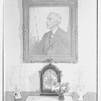 Paul Mellon, residence in Upperville, Virginia. Andrew Mellon portrait