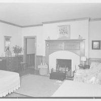 Paul Mellon, residence in Upperville, Virginia. Large guest room II