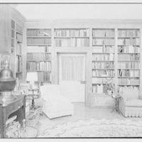 Paul Mellon, residence in Upperville, Virginia. Library II