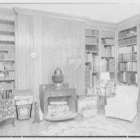 Paul Mellon, residence in Upperville, Virginia. Library IV