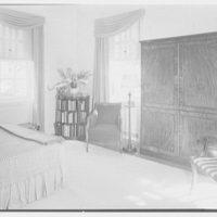 Paul Mellon, residence in Upperville, Virginia. Mr. Mellon's bedroom II