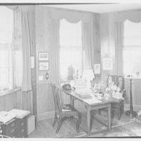 Paul Mellon, residence in Upperville, Virginia. Mrs. Mellon's office I