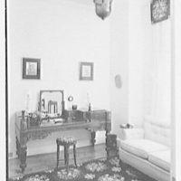 Paul Mellon, residence in Upperville, Virginia. Powder room