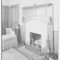 Paul Mellon, residence in Upperville, Virginia. Small guest room II