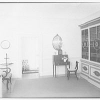 Paul Mellon, residence in Upperville, Virginia. Upper hall