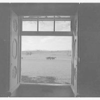 Paul Mellon, residence in Upperville, Virginia. View from living room window