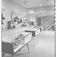 Plymouth Shop, business at 2287 Broadway, New York City. Interior II