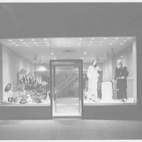 Plymouth Shop, business at 2287 Broadway, New York City. Night exterior