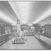 Potomac Electric Power Co. air conditioning and lighting. Drugstore in 3200 block 14th St. N.W.