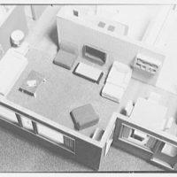 Raymond Barger Studio, Stamford, Connecticut. Model interior