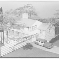 Raymond Barger Studios, Stamford, Connecticut. Model no. 3, exterior II