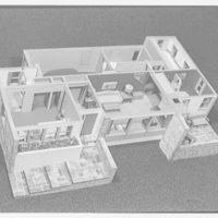 Raymond Barger Studios, Stamford, Connecticut. Model no. 3, interior II