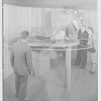 Raymond Barger Studios, Stamford, Connecticut. Model no. 4, with figures