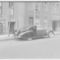 Raymond Loewy Associates, 580 5th Ave., New York City. Model automobile II, Lincoln Zephyr