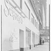 Schrafft's, 3rd Ave. and 57th St., New York City. Sharp view, 57th St. facade