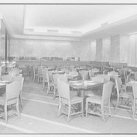 Schrafft's, 57th St. and 3rd Ave., New York City. General view to rear of restaurant