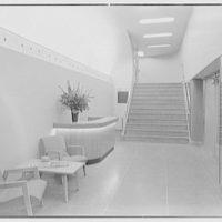 Station WNEW, 565 5th Ave., New York City. Entrance foyer