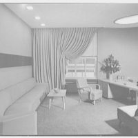 Station WNEW, 565 5th Ave., New York City. Station director's office II