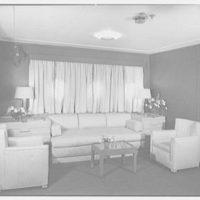 Steamship America, United States Line, 1 Broadway, New York City. Sitting room U39