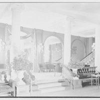 The Homestead, Hot Springs, Virginia. Ballroom, stair end