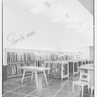 Bernard Shultz Department Store, business at Third and Main St., Evansville, Indiana. Sportswear