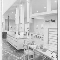 Bernard Shultz Department Store, business at Third and Main St., Evansville, Indiana. Shoe department I
