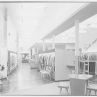 Bernard Shultz Department Store, business at Third and Main St., Evansville, Indiana. General view to front