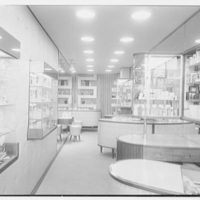 Cybelle, business at 126 W. 50th St., New York City. Interior