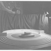 Firestone Memorial model. View II