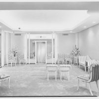 Florence Lustig, business at 54 E. 57th St., New York City. Interior I