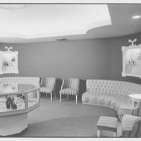 Florence Lustig, business at 54 E. 57th St., New York City. Interior VII