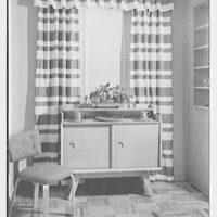 H. Kreiger, residence at 425 W. 205th St., New York, New York. Dinette cabinet