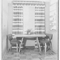 H. Kreiger, residence at 425 W. 205th St., New York, New York. Dinette table