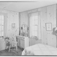Harriet K. Morse, residence in Litchfield, Connecticut. Bedroom I