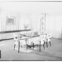 Herman Lowin, residence at 205 Townsend Ave., Pelham Manor, New York. Dining room