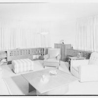 Herman Lowin, residence at 205 Townsend Ave., Pelham Manor, New York. His room