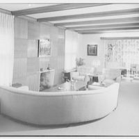 Herman Lowin, residence at 205 Townsend Ave., Pelham Manor, New York. Living room I