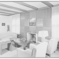 Herman Lowin, residence at 205 Townsend Ave., Pelham Manor, New York. Living room II