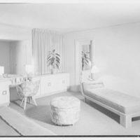 Herman Lowin, residence at 205 Townsend Ave., Pelham Manor, New York. Master bedroom II