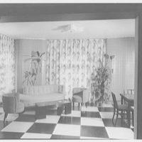 Herman Lowin, residence at 205 Townsend Ave., Pelham Manor, New York. Sun room