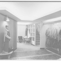 John Blye, business at Post and Mamaroneck Rds., White Plains, New York. Interior X