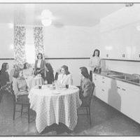 Marymount College, Gailhac Hall, Tarrytown, New York. Snack kitchen