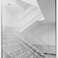Marymount College, Gailhac Hall, Tarrytown, New York. Staircase I