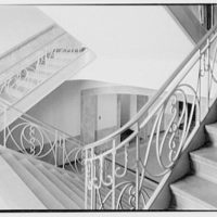 Marymount College, Gailhac Hall, Tarrytown, New York. Staircase II