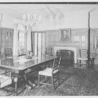 Mr. and Mrs. Andrew Johnston, residence at 16 Portland Pl., Saint Louis, Missouri. Dining room II