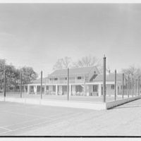 Mr. and Mrs. Edgar B. Stern, residence at 11 Garden Ln., New Orleans, Louisiana. Tennis court I