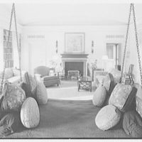 Mr. and Mrs. Edgar B. Stern, residence at 11 Garden Ln., New Orleans, Louisiana. Whim, to fireplace I