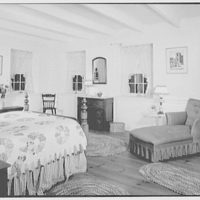 Mr. and Mrs. Eldredge Snyder, Carding Mill Farm, residence in Kellers Church, Pennsylvania. Bedroom I